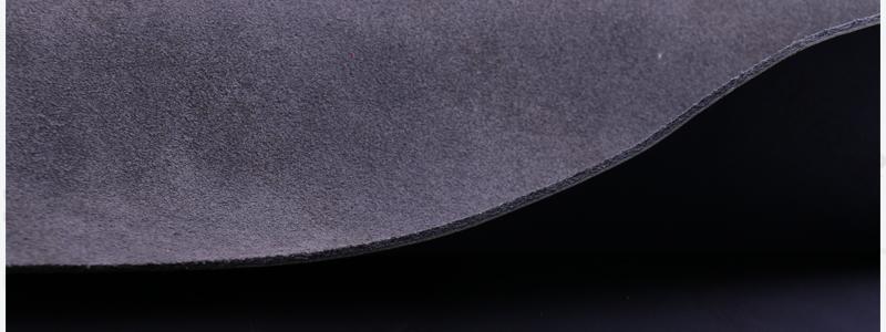 二层复古磨砂皮耐拉力二层牛皮|磨砂二层牛皮革图片十三