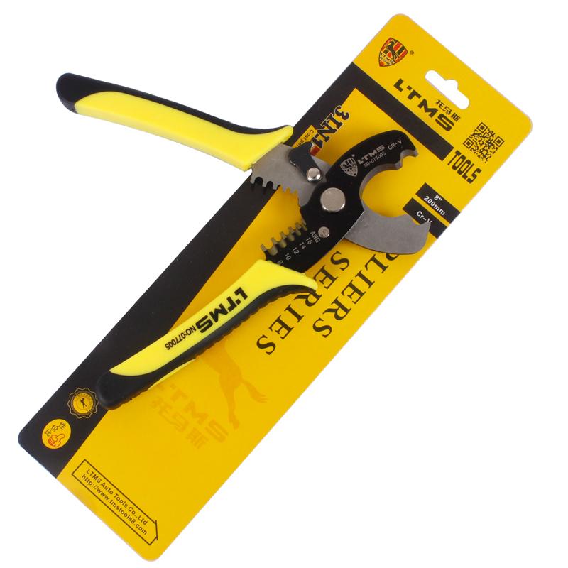 电缆电线剥线钳 剥线器 剥皮剥线剪刀  电工钳图片二