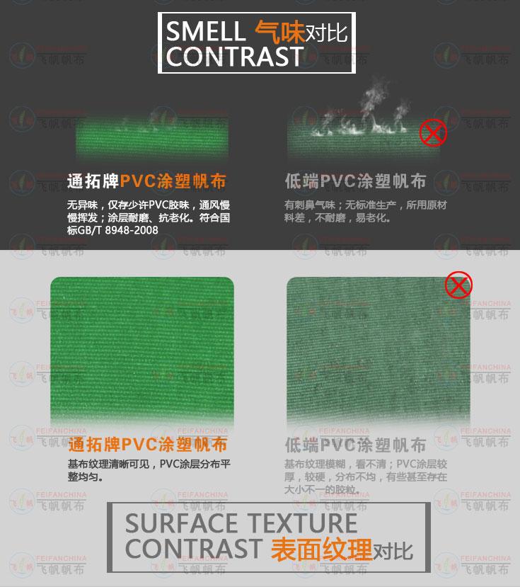 涤纶基布双门过胶的东莞PVC涂层布防水耐用图片