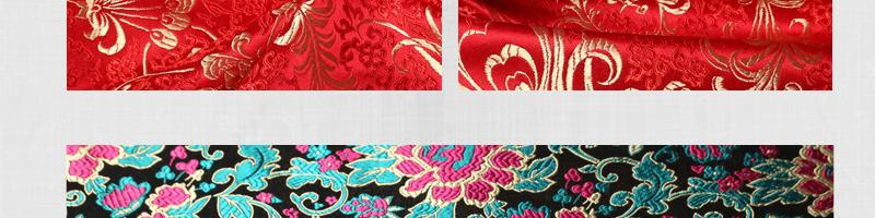 三伍织锦凤尾、竹叶花、蝴蝶牡丹、小牡丹图片二十八