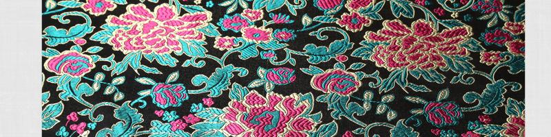 三伍织锦凤尾、竹叶花、蝴蝶牡丹、小牡丹图片二十九