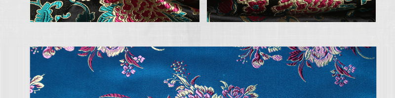 三伍织锦凤尾、竹叶花、蝴蝶牡丹、小牡丹图片三十二
