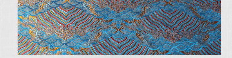 三伍织锦水浪花图片三十