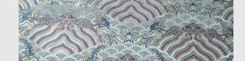 三伍织锦水浪花图片三十三