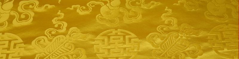 色织万寿缎葫芦花图片十八