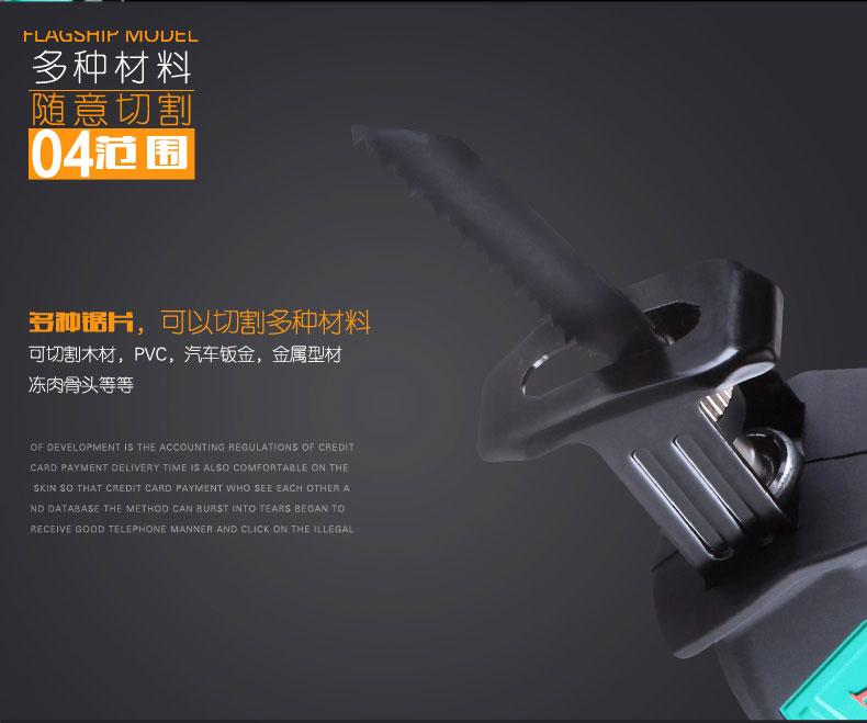 东成DCA 充电式马刀锯 ADJF15图片八