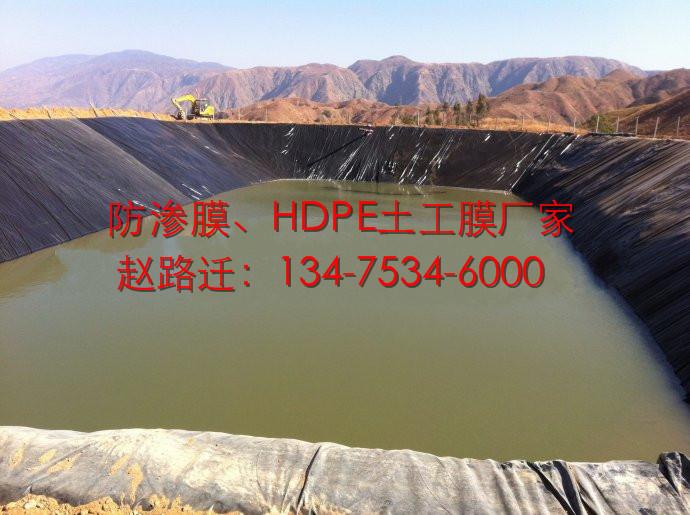 农业灌溉1.0mm蓄水池防渗膜图片十六