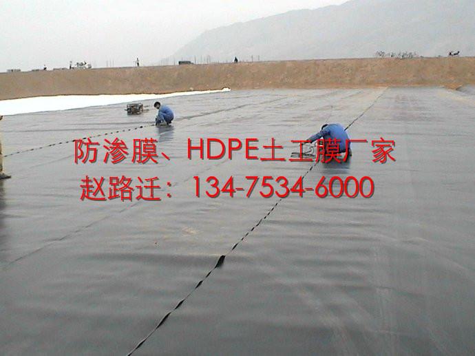 农业灌溉1.0mm蓄水池防渗膜图片十七
