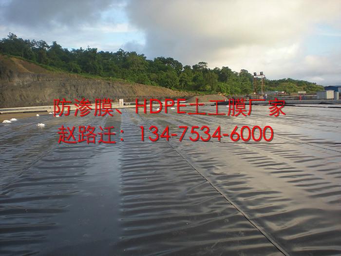 农业灌溉1.0mm蓄水池防渗膜图片二十二