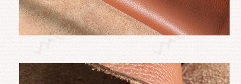 黄牛头层皮 中荔枝纹图片十