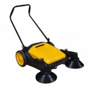 西安扫地机手推式户外扫地车小型无动力园区扫地车图片一