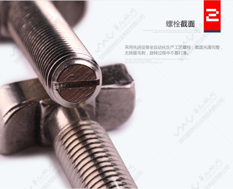 厂家直销热镀锌/不锈钢T型螺栓图片九
