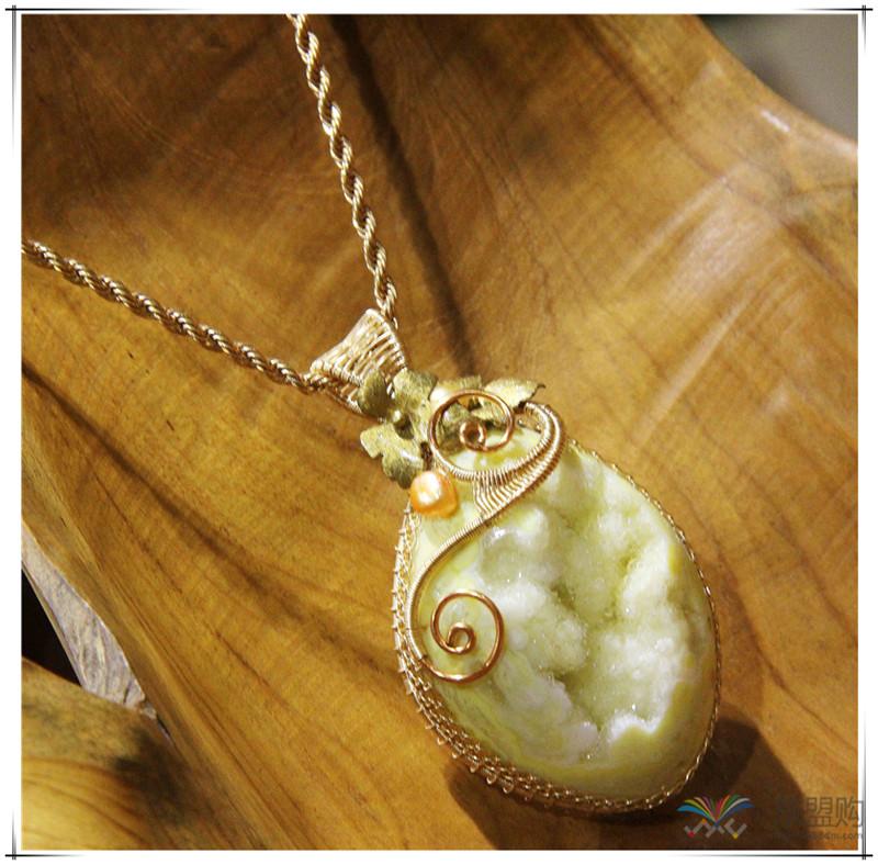 印尼 彩石项链 0202529图片二