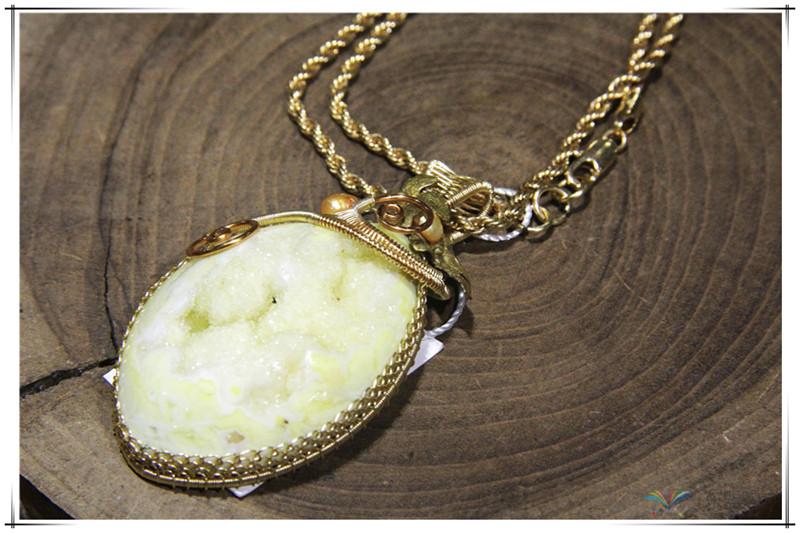 印尼 彩石项链 0202529图片三