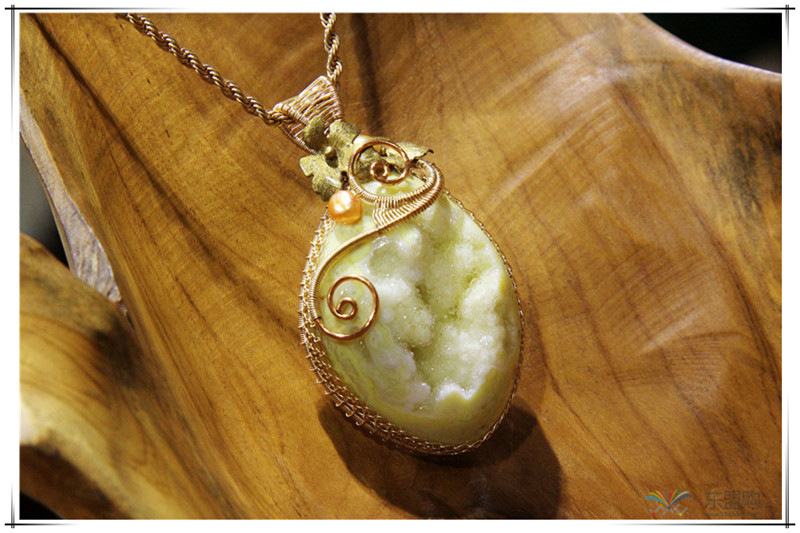 印尼 彩石项链 0202529图片四