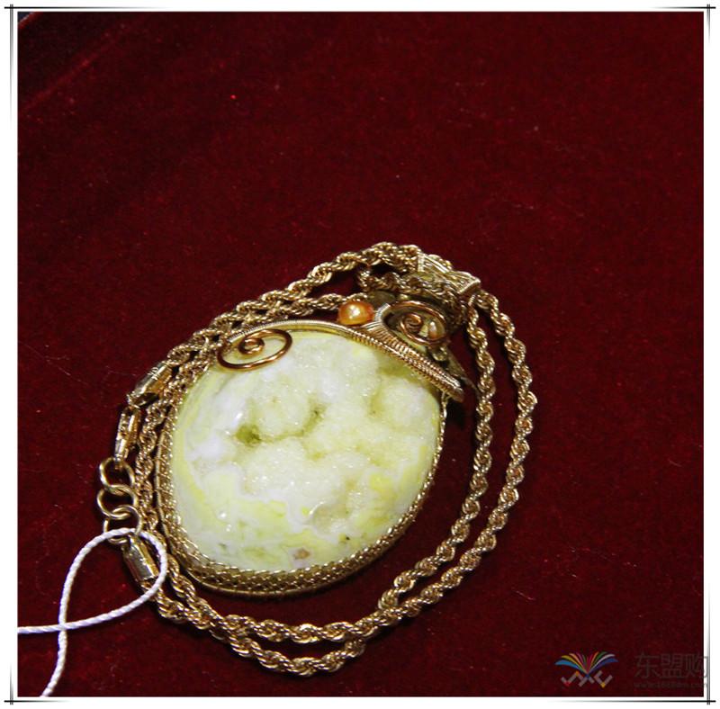 印尼 彩石项链 0202529图片八