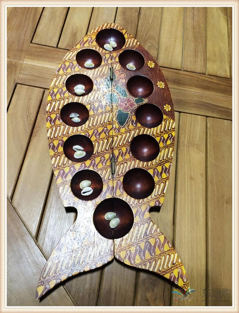 印尼 鱼形棋盘可收纳 0202233图片二