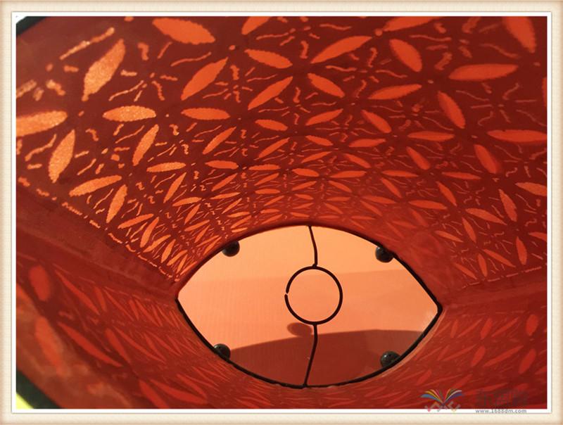 印尼 手工铁艺椭圆形灯罩 家居饰品 0202609图片六