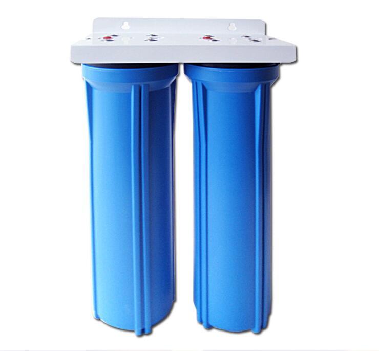 格美20寸蓝色双级净水器 管道过滤器 家用净水机 净水器预滤图片一