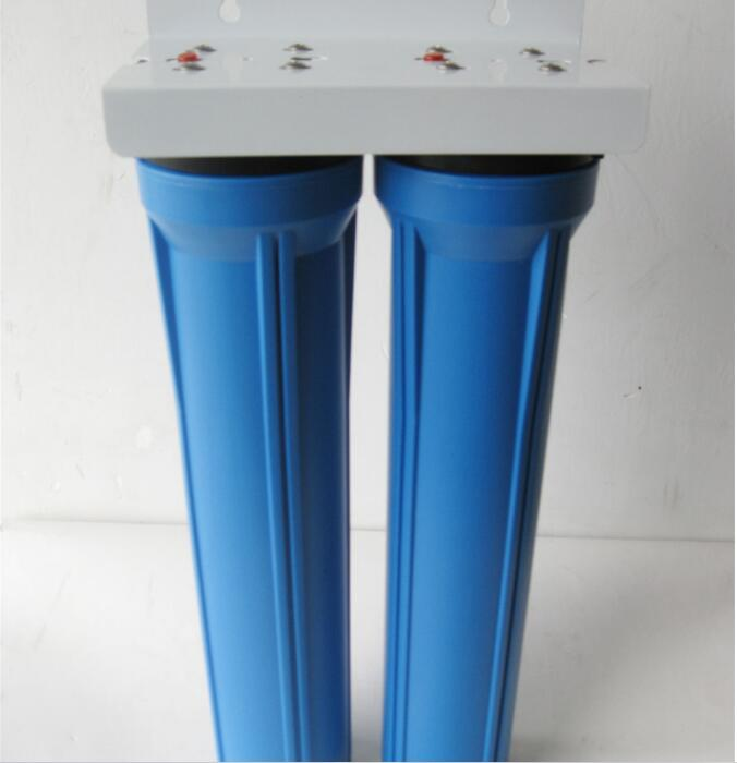 格美20寸蓝色双级净水器 管道过滤器 家用净水机 净水器预滤图片二