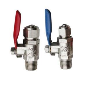 净水器水管专用球阀 三分铸铜球阀图片二