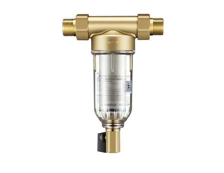 黄铜前置过滤器批发全铜打造反冲洗家用净水器除垢OEM净水器家用图片二