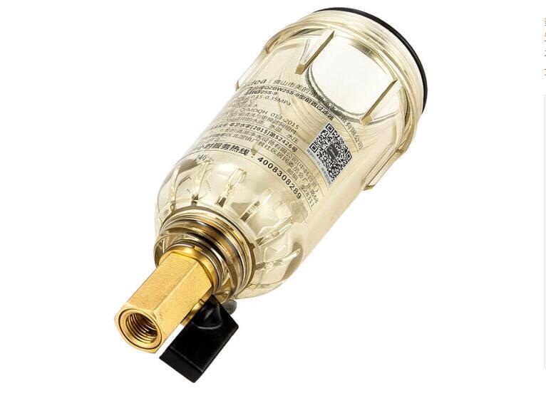 黄铜前置过滤器批发全铜打造反冲洗家用净水器除垢OEM净水器家用图片三