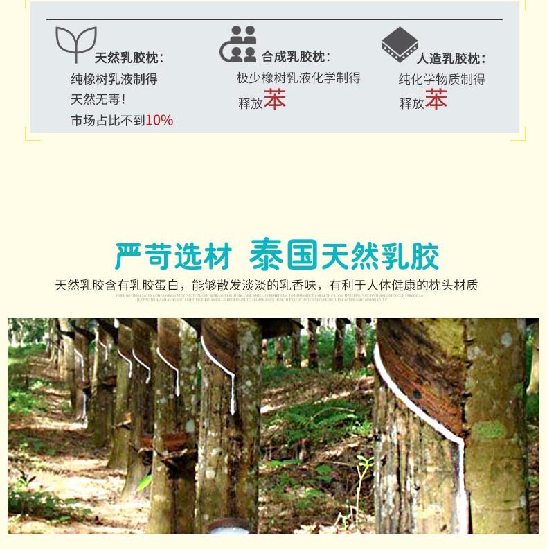 泰国 Sabai 动物系列乳胶枕 0212842图片八