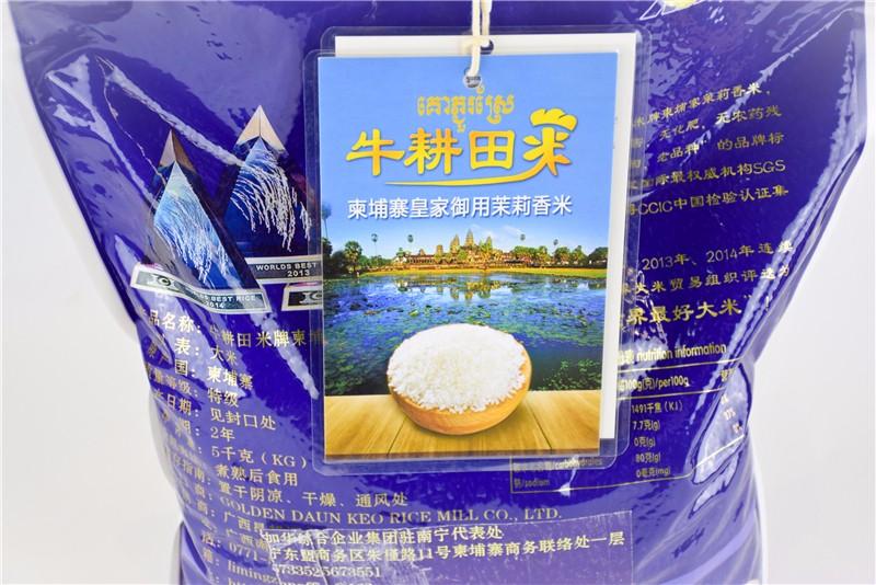 柬埔寨 牛耕田牌茉莉香米 0106763图片四