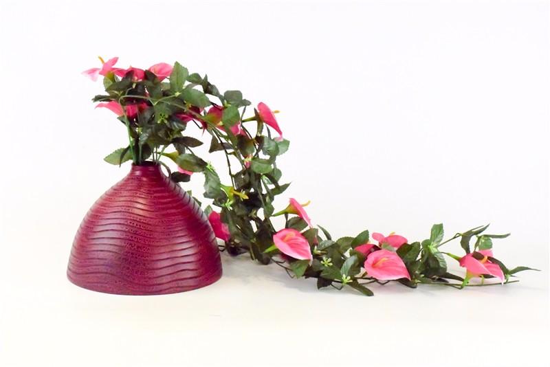 泰国 木质花瓶 0201589图片一