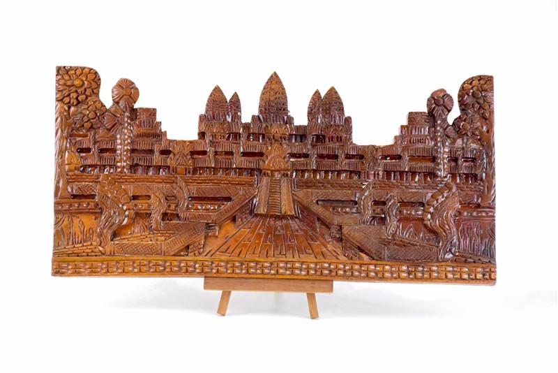 柬埔寨 吴哥窟壁雕  0201186图片一