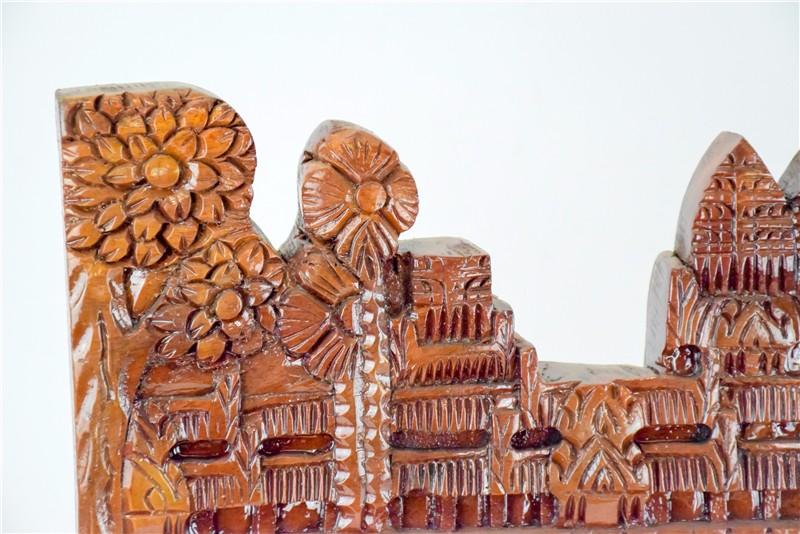柬埔寨 吴哥窟壁雕  0201186图片三