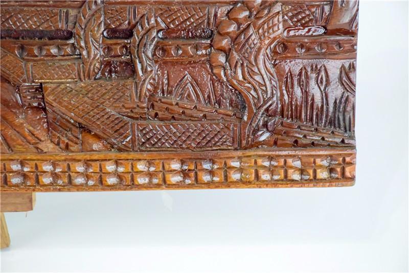 柬埔寨 吴哥窟壁雕  0201186图片四