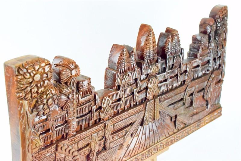 柬埔寨 吴哥窟壁雕  0201186图片七