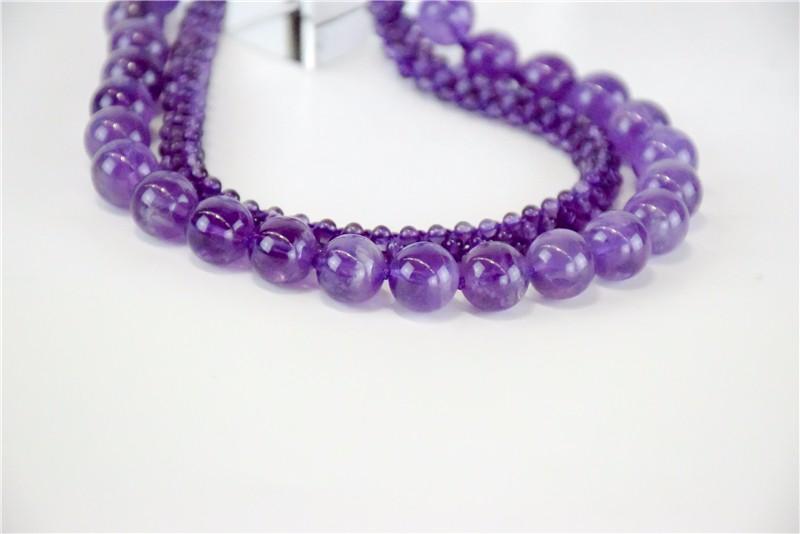柬埔寨 紫水晶仙女系列项链JE136 0203778图片三