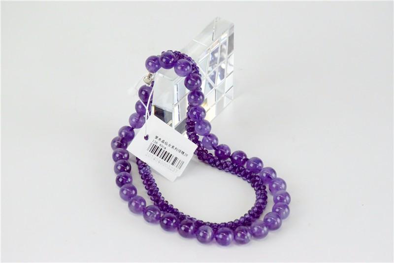 柬埔寨 紫水晶仙女系列项链JE136 0203778图片五
