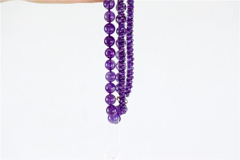 柬埔寨 紫水晶仙女系列项链JE136 0203778图片六