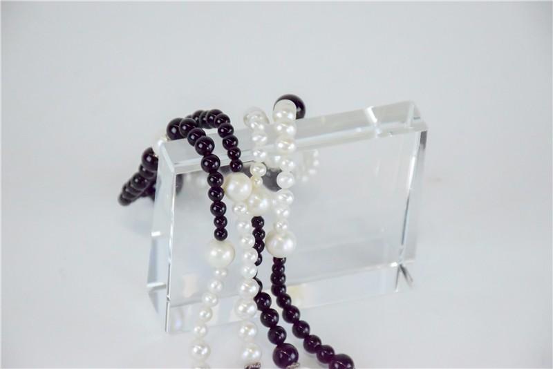柬埔寨 玛瑙珍珠镶嵌项链JE046  0203784图片三