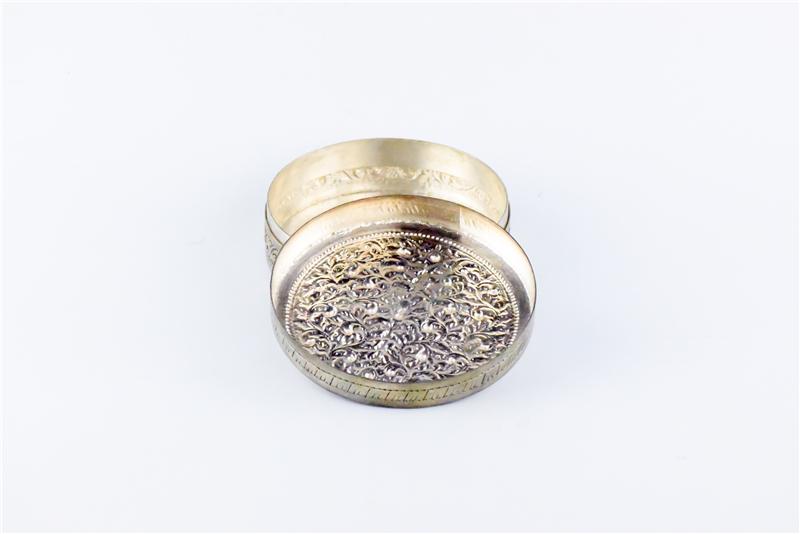 柬埔寨  圆形花盒子 0203563图片二