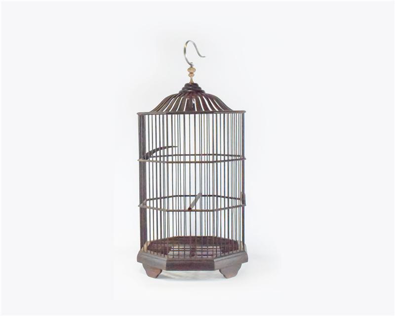 老挝 酸枝木鸟笼 0206783图片一