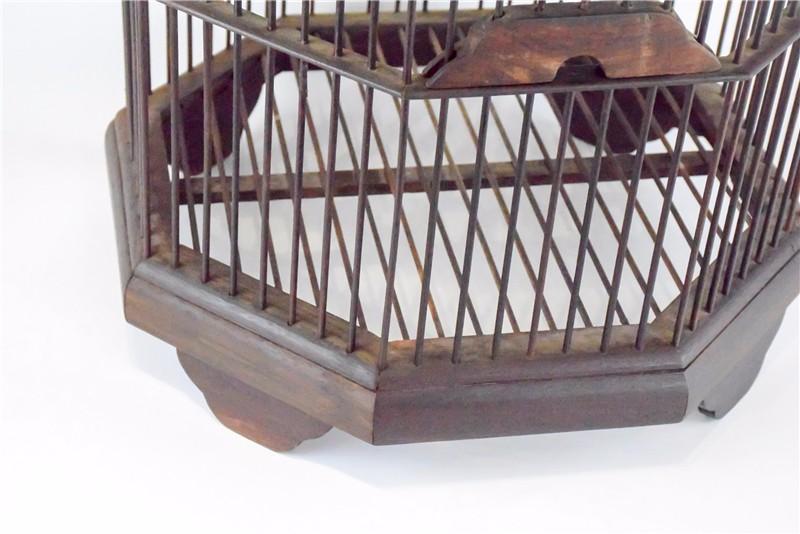 老挝 酸枝木鸟笼 0206783图片二
