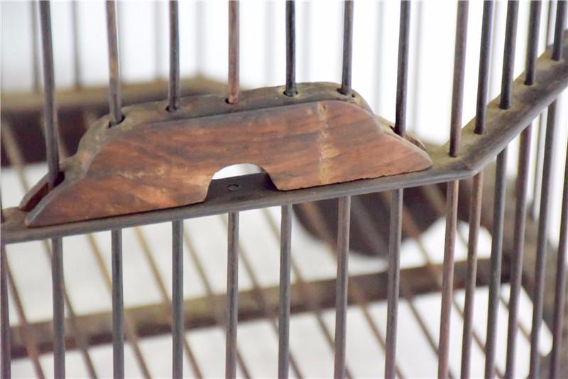 老挝 酸枝木鸟笼 0206783图片五