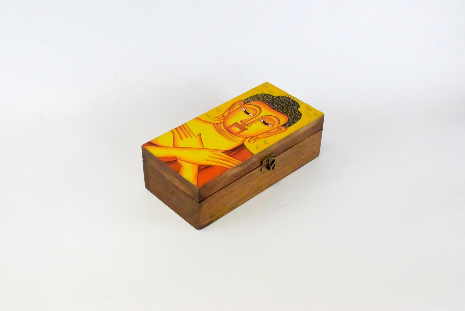 泰国 木质宝盒 0202949图片八