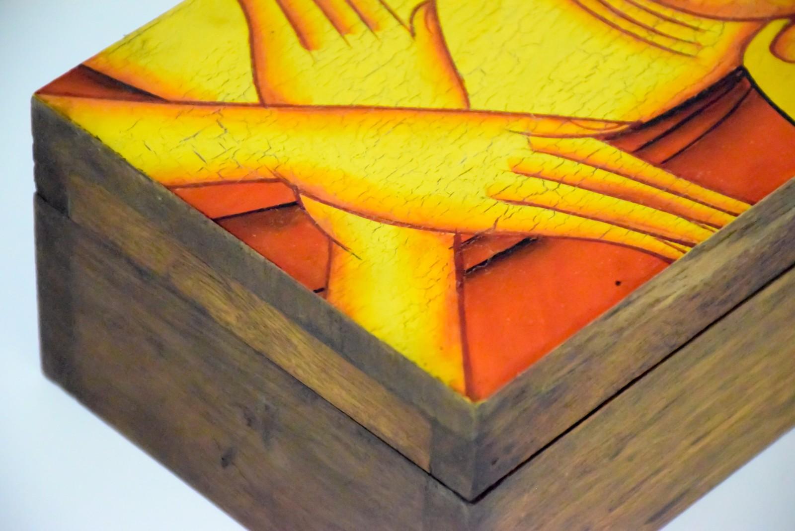 泰国 木质宝盒 0202949图片十二