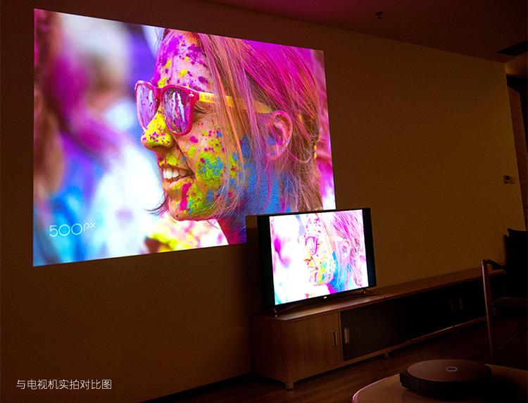 坚果(JmGO)G3 家用 投影机 投影仪  800P高清分辨率图片十三