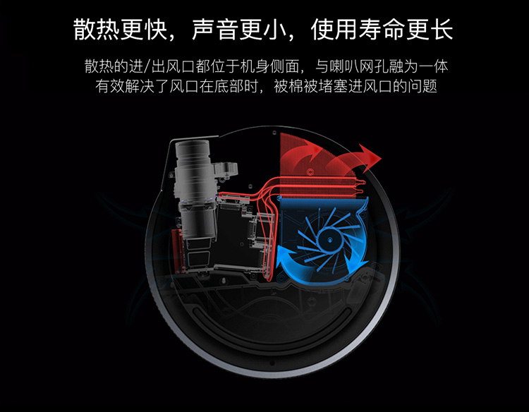 坚果(JmGO)G3 家用 投影机 投影仪  800P高清分辨率图片二十一