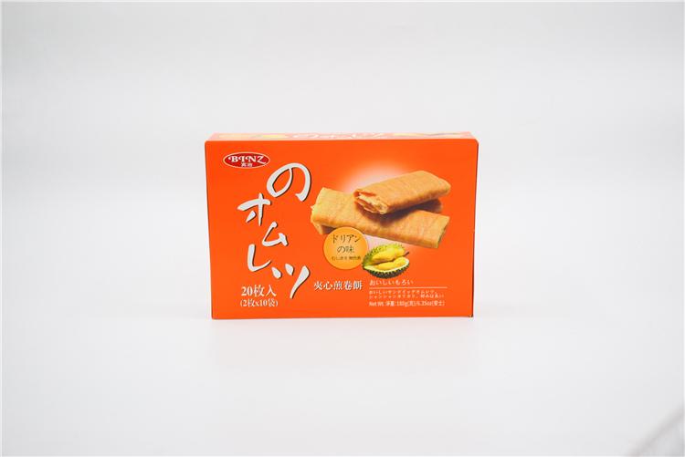 香港 宾治夹心煎卷饼(榴莲味)180g   0108090图片一
