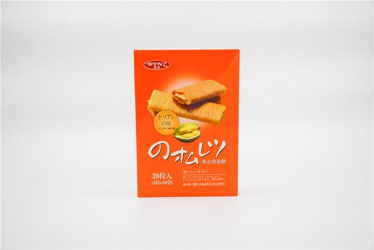 香港 宾治夹心煎卷饼(榴莲味)180g   0108090图片二