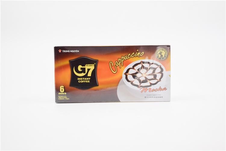 越南 中原G7卡布奇诺咖啡摩卡味108g  0107727图片三