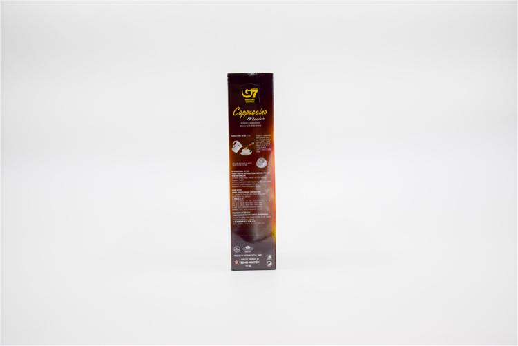 越南 中原G7卡布奇诺咖啡榛子味108g  0107728图片三